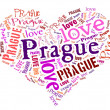Love Prague — Stock Photo