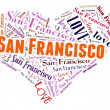 Love San Francisco — Stock Photo