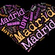 I love Madrid - Stock Photo