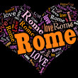 I love Rome — Stock Photo