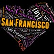 I love San Francisco — Stock Photo