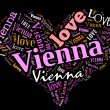 I love Vienna — Stock Photo