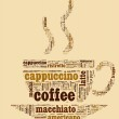 Wordcloud coffee cup — Stock Photo #15641073