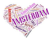 Love Amsterdam — Stock Photo