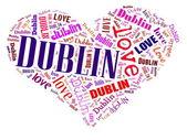 Love Dublin — Stock Photo