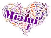 Love Miami — Stock Photo