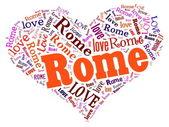 愛のローマ — ストック写真