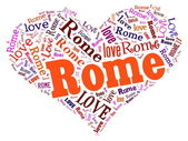 Love Rome — Stock Photo