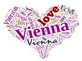 Love Vienna — Stock Photo