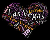 I love Las Vegas — Stock Photo