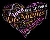 I love Los Angeles — Stock Photo