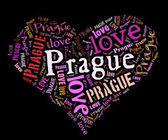 I love Prague — Stock Photo