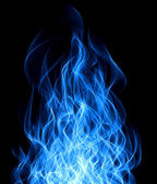 Blue fire — Stock Photo