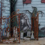 Graffiti on the wall — Stock Photo #19030523