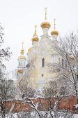 Monasterio ortodoxo de jarkov ucrania — Foto de Stock