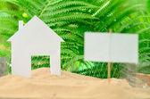 Casa por concepto de venta — Foto de Stock