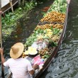 Damnoen Saduak Floating Market, Bangkok, Thailand — Stock Photo