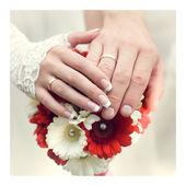 Wedding bouquet — Стоковое фото