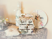 Wedding decorative tree of invited — Stock Photo