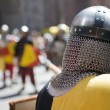 Medieval warrior — Stock Photo