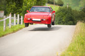 Rally car — Foto Stock