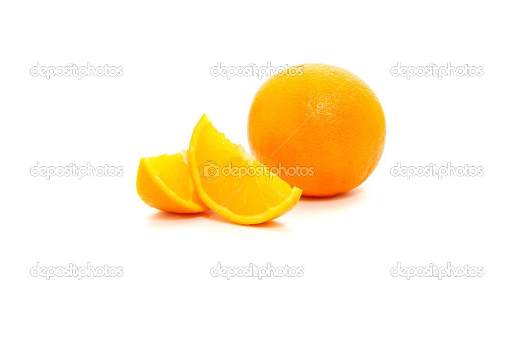 橙子切 — 图库照片08sanse293#40875519