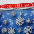 Joy to the world sign — Stock Photo