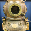 Stock Photo: Deep sediving helmet