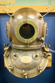 Deep sea diving helmet — Stock Photo