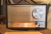 Old time radio — Stock Photo
