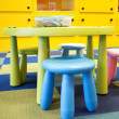 Colorful kids play room — 图库照片