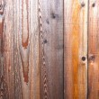 Wooden planks with amber color — Stock Photo