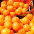Stock Photo: Bagged mandarin oranges