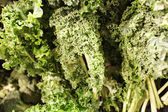 Crisp fresh kale at the market — Stock Photo