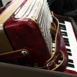 Accordion in case - Stock Photo