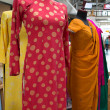 Stock Photo: Dresses at international village mall