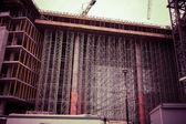 Public housing under construction — Foto de Stock