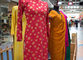 Dresses at international village mall — Stock Photo
