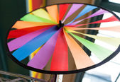 Colorful ribbon wheel — Stock Photo