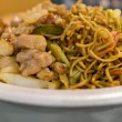 Szechuan chicken chow mein — Stock Photo #27112951