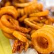 Stock Photo: Curly fries