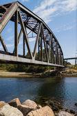 Most w parku ambleside — Zdjęcie stockowe