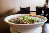 Vietnamese beef noodle soup — Stock Photo