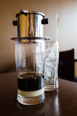 Vietnamese coffee — Stock Photo