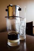 Vietnamese coffee — Stock Photo