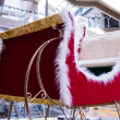 Stock Photo: Santsleigh in mall