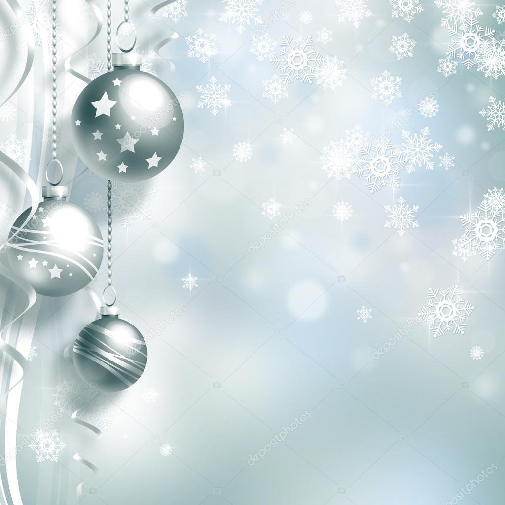 Fondo de navidad con bolas foto de stock 15551807 for Dibujos de navidad bolas
