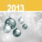 New 2013 year greeting card — Stock Photo