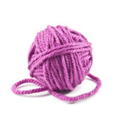 Ball of threads — Stock Photo