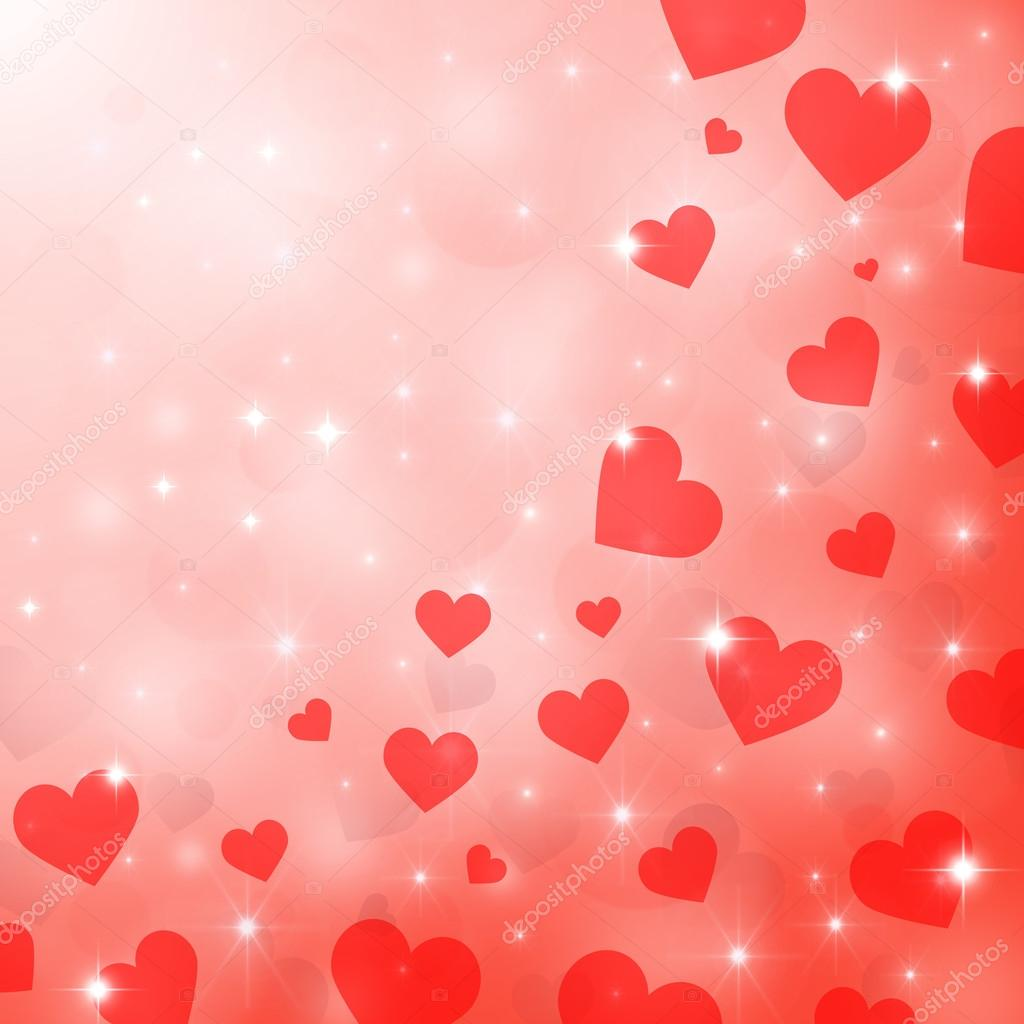 Abstract background to the Valentine's day  Foto Stock #16980725